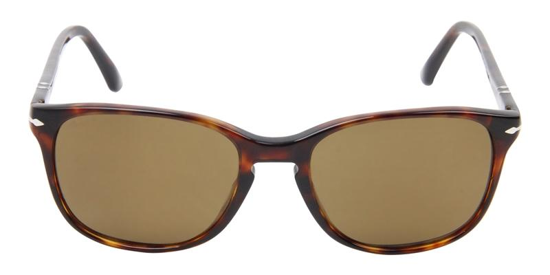 Persol - PO3133S Tortoise Rectangular Men Sunglasses - 52mm