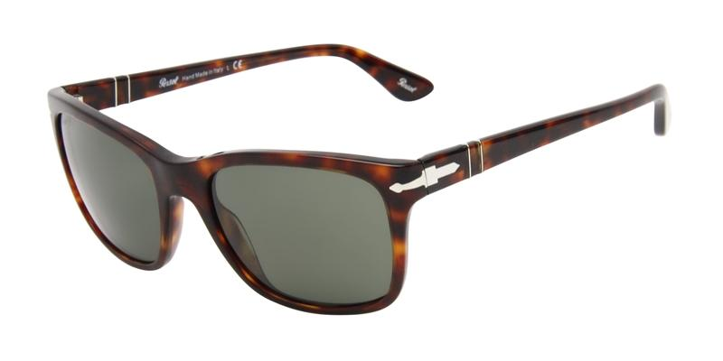 Persol Men's PO3135S Tortoise / Green Lens Sunglasses