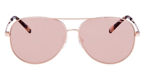 Michael Kors MK 5016 Rose Gold / Pink Lens Sunglasses