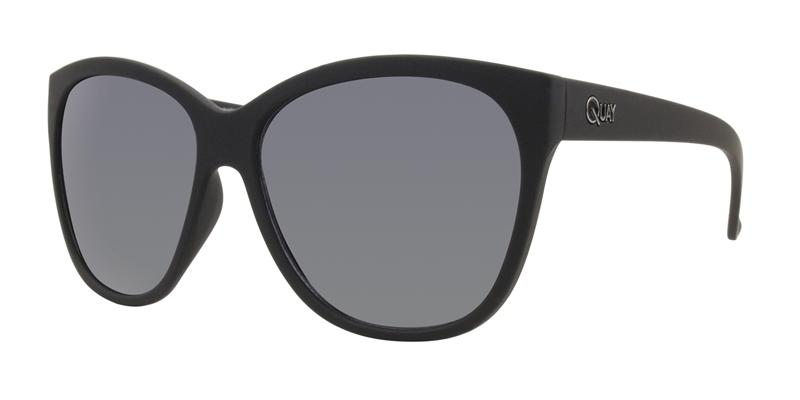 Quay Australia - About Last Night Black Oval Women Sunglasses - mm