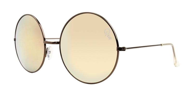 Quay Australia - Dynasty Brown Oval Women Sunglasses - mm