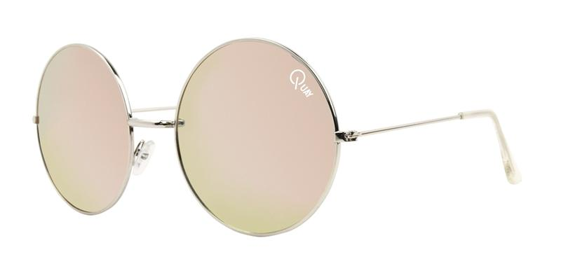 Quay Australia - Dynasty Silver Oval Women Sunglasses - mm