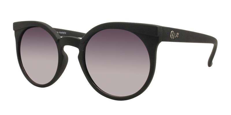Quay Australia - Kosha Black Oval Women Sunglasses - mm