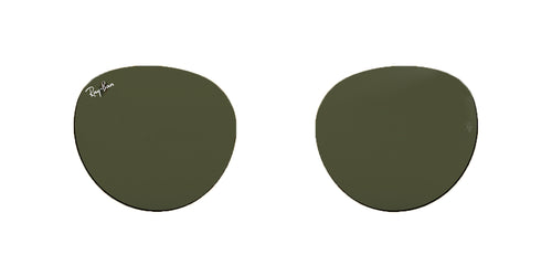 Ray-Ban RB3532 001 Green Replacement Lens - 53mm