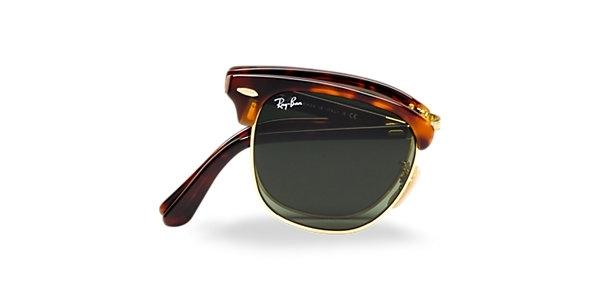 bfed3375882 Ray Ban Folding Clubmaster Red Havana Sunglasses RB 2176 990 ...