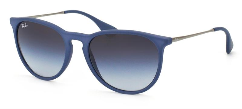 Ray Ban - Erika Blue/Gray Gradient Oval Unisex Sunglasses - 54mm