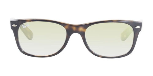 Ray Ban New Wayfarer Tortoise / Yellow Lens Sunglasses