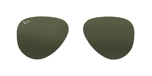 Ray-Ban RB3025 001/58 Replacement Polarized Lenses - 62mm