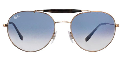 Ray Ban RB3540 Bronze / Blue Lens Sunglasses