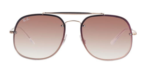 Ray Ban RB3583N Rose Gold / Pink Lens Sunglasses