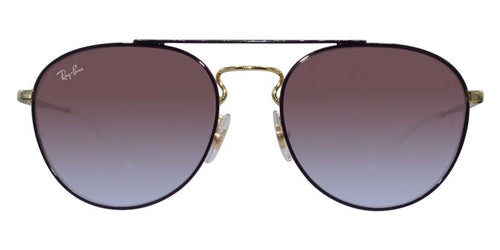 Ray Ban RB3589 Purple Gold / Purple Lens Sunglasses