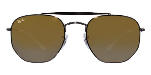 Ray Ban RB3648 Silver / Yellow Lens Mirror Sunglasses