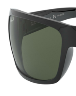 Ray-Ban RB4075 GREEN P REPLACEMENT LENSES 61MM