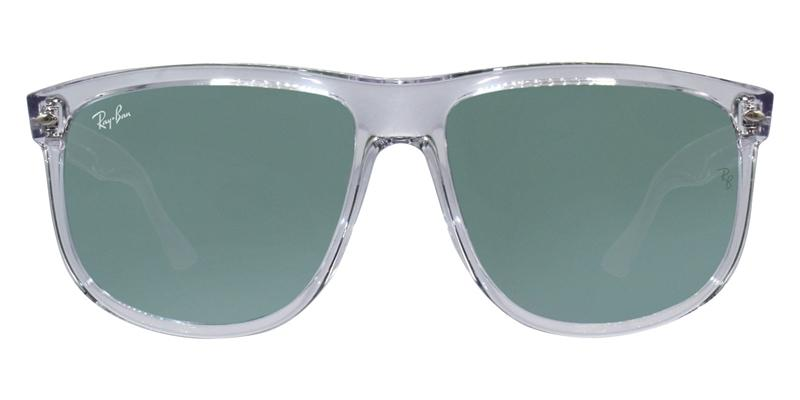 cd4dee11143 Ray Ban RB4147 Clear   Green Lens Mirror Sunglasses – shadesdaddy