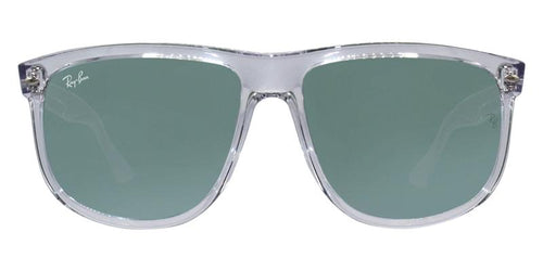 Ray Ban RB4147 Clear / Green Lens Mirror Sunglasses