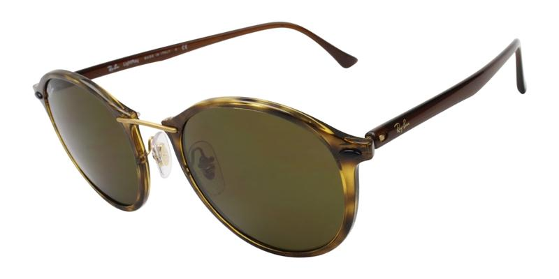 Ray Ban - RB4242 Tortoise/Brown Oval Women Sunglasses - 49mm