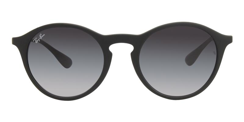 Ray Ban - RB4243 Black/Gray Gradient Oval Unisex Sunglasses - 49mm