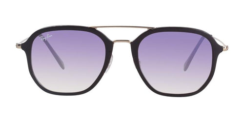 Ray Ban RB4273 Brown Gold / Purple Lens Sunglasses