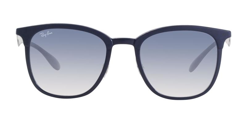 Ray Ban - RB4278 Blue/Blue Gradient Rectangular Unisex Sunglasses - 51mm