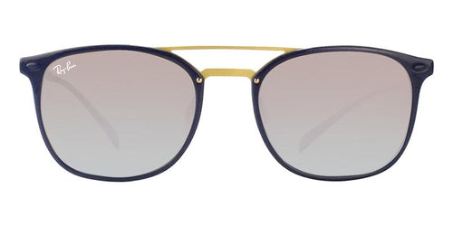 Ray Ban - RB4286 Blue Gold Rectangular Unisex Sunglasses - 55mm