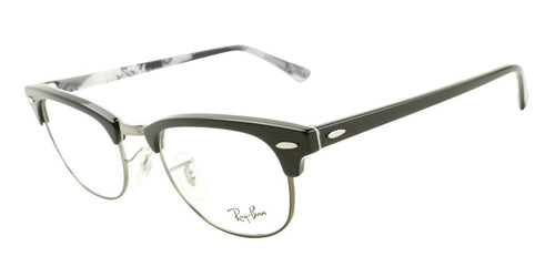 Ray Ban Rx - RX5154 Black Oval Unisex Eyeglasses - 49mm