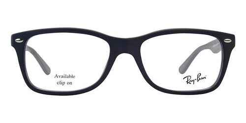 Ray Ban Rx - RX5228 Blue Rectangular Women Eyeglasses - 53mm