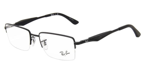 Ray-Ban Unisex RB6285 Black / Clear Lens