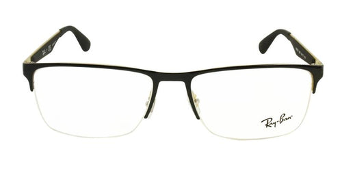 Ray-Ban Men's RB6335 Black / Clear Lens