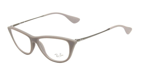 Ray-Ban Women's RX7042 Gray / Clear Lens Glasses