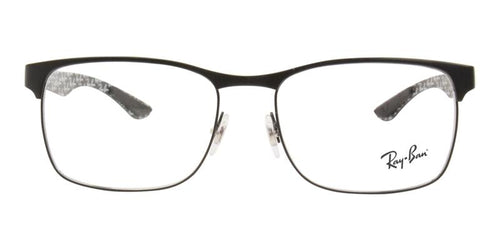 Ray Ban Unisex RB8416 Black / Clear Lens Eyeglasses