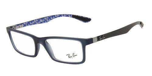 Ray Ban Unisex RB8901 Blue / Clear Lens Glasses