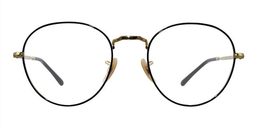 Ray Ban RX3582V Gold Black / Clear Lens