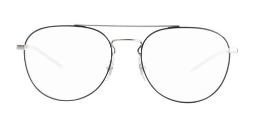 Ray-Ban RX6414 Silver Black / Clear Lens