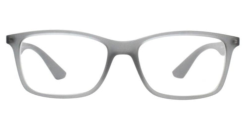 Ray Ban RX7047 Gray / Clear Lens Eyeglasses