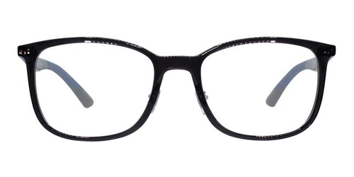 Ray Ban RX7142 Gray / Clear Lens Eyeglasses