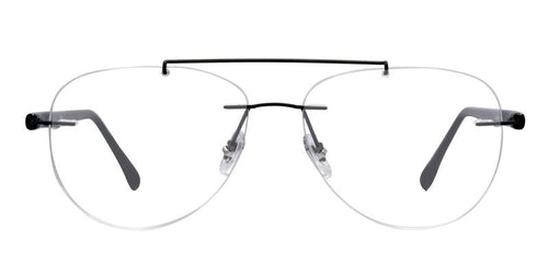 Ray Ban RX8749 Gray Black / Clear Lens Eyeglasses