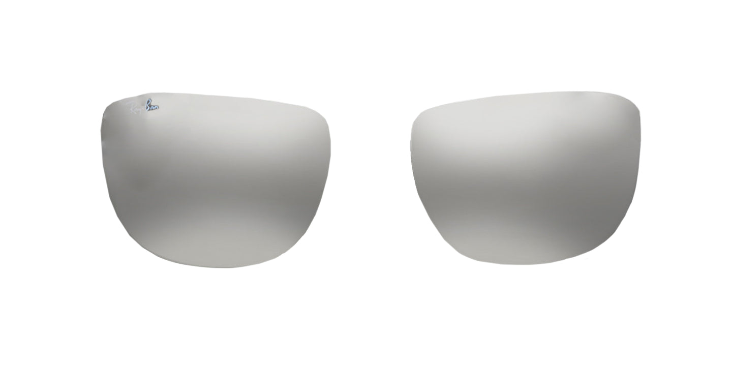 RB3533 - Lenses - Gray Mirror Silver Gradient 004 88