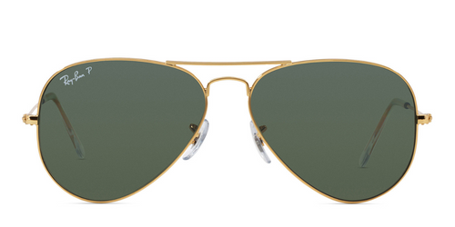 Ray Ban Aviator Polarized Sunglasses RB 3025 001/58