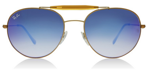 Ray-Ban RB3540 Bronze / Blue Lens Mirror