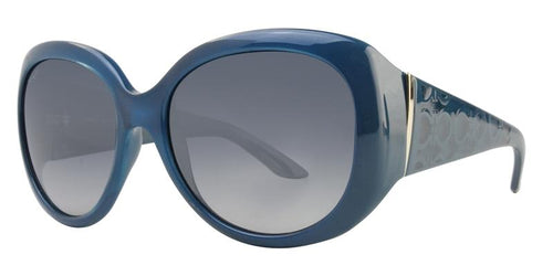 Salvatore Ferragamo SF721S Blue / Blue Lens Sunglasses