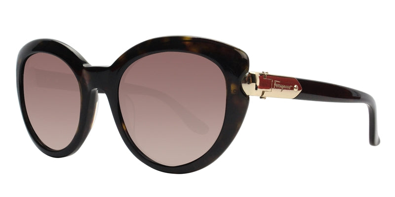 Salvatore Ferragamo SF762S Tortoise / Brown Lens Sunglasses