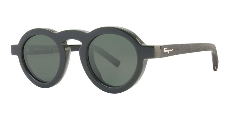 Salvatore Ferragamo SF812S Green / Green Lens Sunglasses