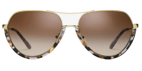 782df488cab Michael Kors Austin Gold   Smoke Lens Gradient Polarized Sunglasses