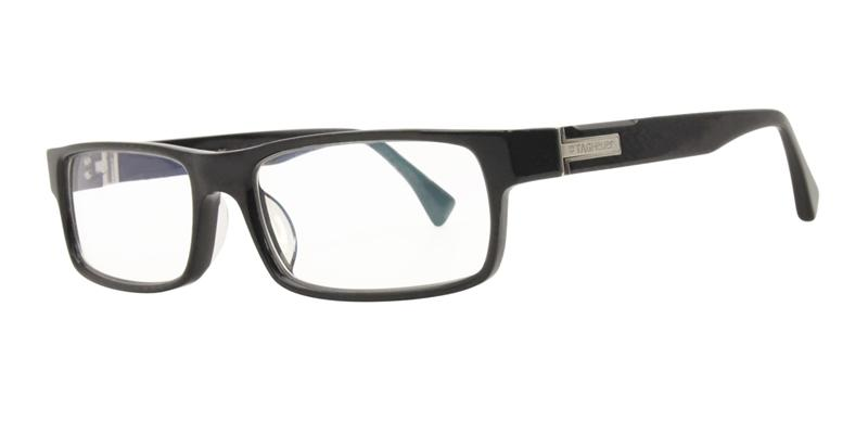 Tag Heuer TH0501 Black / Clear Lens Eyeglasses
