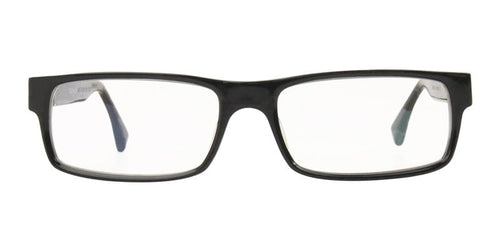 Tag Heuer Men's TH0501 Black / Clear Lens Glasses