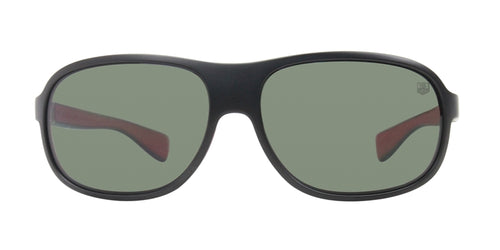 Tag Heuer TH9301 Black / Green Lens Polarized Sunglasses