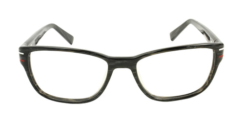 Tag Heuer TH0533 Black / Clear Lens Eyeglasses