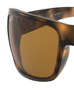 Ray-Ban RB4075 BROWN P REPLACEMENT LENSES