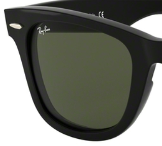 Ray-Ban RB4340 GREEN REPLACEMENT LENSES