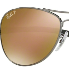 RB8301 - Lenses - Gold Polarized
